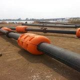 浚渫する海のためのHDPEの浚渫機の管HDPEの固体壁の管