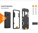 La armadura de acero antichoque Kickstand casos para Samsung Galaxy S9