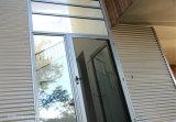 Stile francese di valore alto portelli esterni del balcone dell'alluminio di 88 serie
