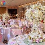 Dekking de van uitstekende kwaliteit van de Stoel van Spandex van het Huwelijk van de Polyester van 100% hly-CV62