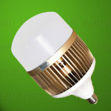 Luz de bulbo de alumínio do diodo emissor de luz da carcaça do poder superior E40/E27