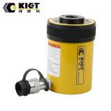 Cylindre hydraulique de la capacité 13-95ton de la rappe 8-155mm de plongeur à simple effet de cavité