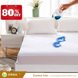 Il vinile Hypoallergenic respirabile pieno libera la protezione impermeabile del materasso del tessuto della protezione del materasso di 100%