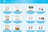 Soem-nasse Wegwerftücher Microfiber/Baumwolle für Gaststätte-Hotel-Fluglinien-Gebrauch