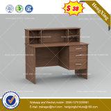 Bureau en forme de L en bois d'ordinateur de bureau avec le tiroir (HX-8NE008)