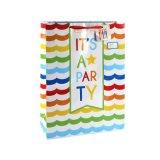 3 мешка Coated подарка искусствоа способа цветов бумажных