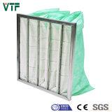 Al de F6 65% ou sac non-tissé de Gl/filtre Pocket