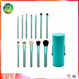 De promotie Hulpmiddelen van de Make-up van de Wol van de Borstels 12PCS van de Make-up Kosmetische