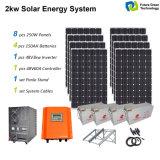 格子ホーム使用の太陽エネルギーシステムを離れた1kw