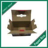 Коробка оптовой цены изготовленный на заказ цветастая Corrugated