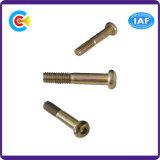 Acero de carbono de GB/DIN/JIS/ANSI/tornillos penetrantes de la pulgada principal plana inoxidable del ciruelo para los muebles