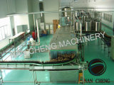 ガラスビン500mlの野菜ジュースの炭酸充填機械類