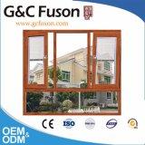 알루미늄 강화 유리 여닫이 창 및 조정 Windows