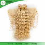 Cheveux humains brésiliens de la couleur 613# blonde en gros