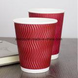 Professional rizado ecológica Papel Kraft de pared tazas de café