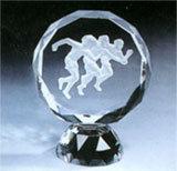 Série de ilustrações de cristal
