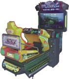 Полностью динамический гвардеец 3D неба участвуя в гонке имитатор машин игры участвуя в гонке игры