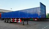 반 측벽 하락 측 높은 담 트럭 트레일러