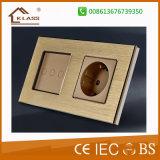빛을%s 86 유형 강화 유리 마스크 접촉 통제 벽 스위치