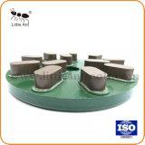 8 / 10 polegadas vínculo de resina verde da placa de polimento de diamantes de discos de polimento da chapa de moagem de resinas