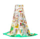 Weiche Andhight QualitätsSilk Schal für Frauen anpassen
