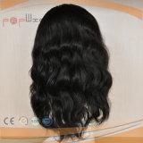 La parte superior de la seda judío de la mujer peluca delantera de encaje Kosher (PPG-L-01561)