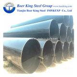 Tubo 3PE, tubo/tubo di api 5L X70 LSAW del acciaio al carbonio del grande diametro LSAW che trasporta il gasolio fluido del petrolio