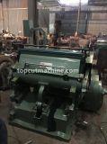Máquina cortadora de papel con la placa de calefacción