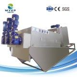 De zelfreinigende Ontwaterende Machine van de Modder van de Pers van de Schroef van de Behandeling van het Afvalwater van het Slachthuis