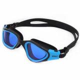 Il professionista popolare ha polarizzato gli occhiali di protezione adulti di nuotata del silicone blu