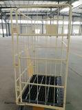 Base de plástico de alta qualidade recipientes do Rolo