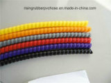 유연한 PVC 착용 저항하는 유압 호스 프로텍터 소매