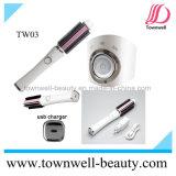 쉬운 여행을%s USB 머리 컬러 솔 철 백색과 분홍색 편리한 전송하십시오