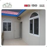 Estructura de acero de la luz de lujo de gama alta de la Junta de cemento de la Casa Villa prefabricados