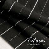 30s Tencel und Leinen verwobenes Polyester-gestreiftes Muster des Gewebe-2%