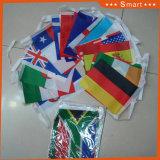 다채로운 당 Bunting&String 페넌트 깃발 또는 광고 기치 또는 끈 만국기 깃발