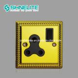 고품질 13A 1gang 둥근 Pin 소켓 BS546