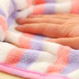 Preiswerter korallenroter Vlies-Handtuch-reizender Entwurf mit Bowknot