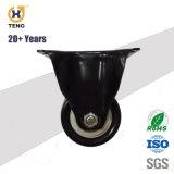 """1,5'' 2'' 2,5""""/fixe rigide de la plaque supérieure en PVC noir sur blanc PP Core Roulette avec 608 à roulement double"""
