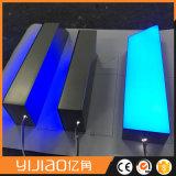 Étalage de publicité imperméable à l'eau extérieur contre éclairé/lettres acrylique du l'Avant-Lit 3D DEL