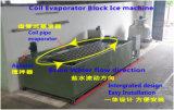 Générateur de glace de bloc d'évaporateur de pipe de bobine