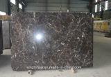 Marbre foncé de marbre foncé chinois d'Emperador de matériau de construction