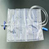 De medische Zak van de Drainage van de Urine met trekkracht-Duw Klep