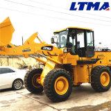 Ltma 3.5トンの試験制御を用いる小型車輪のローダー