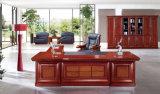 標準的で豪華な一見のカスタマイズされたサイズの木の主任の机