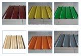 onda di spessore di 0.14-0.8mm/lamiera di acciaio delle mattonelle di profilo/punto della casella/tetto del metallo