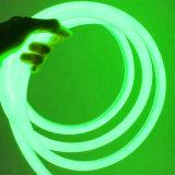 2835 24V 360 Graad Lichtgevend Geen Donker Gebied 16mm het Cirkel Flexibele LEIDENE van het Neon Licht van de Strook