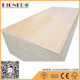 Papel de la melamina, madera contrachapada se enfrentan con grano de madera de abedul