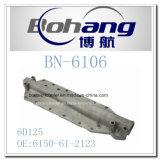 Bonaiエンジンの予備品の小松6D125オイルクーラーカバー(6150-61-2123)