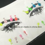 Нетоксические драгоценности стороны стикера и стикер Tattoo тела секса стикера глаза временно (S032)